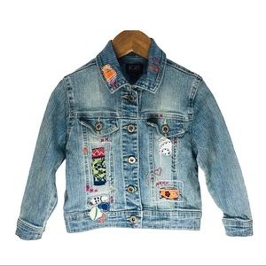The Children's Place toddler patchwork jean jacket